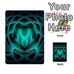 Swirling Dreams, Teal Multi-purpose Cards (Rectangle)