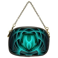 Swirling Dreams, Teal Chain Purses (One Side)