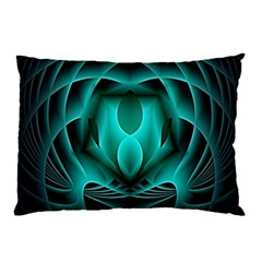 Swirling Dreams, Teal Pillow Cases (two Sides)