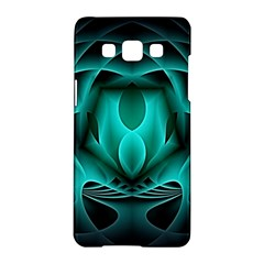 Swirling Dreams, Teal Samsung Galaxy A5 Hardshell Case