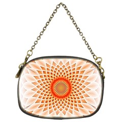 Swirling Dreams,peach Chain Purses (Two Sides)