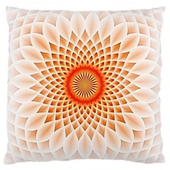Swirling Dreams,peach Large Cushion Cases (Two Sides)