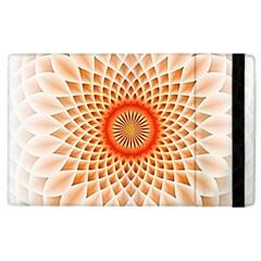 Swirling Dreams,peach Apple iPad 2 Flip Case