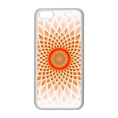 Swirling Dreams,peach Apple Iphone 5c Seamless Case (white)