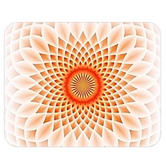 Swirling Dreams,peach Double Sided Flano Blanket (Medium)