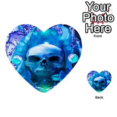 Skull Worship Multi Purpose Cards (heart)