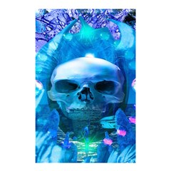 Skull Worship Shower Curtain 48  X 72  (small)