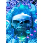 Skull Worship I Love You 3D Greeting Card (7x5)  Inside