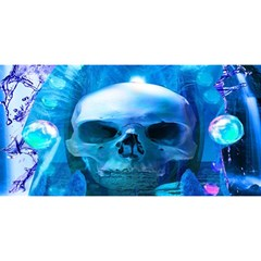 Skull Worship You Are Invited 3d Greeting Card (8x4)