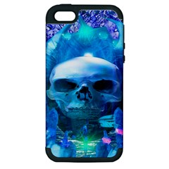 Skull Worship Apple iPhone 5 Hardshell Case (PC+Silicone)