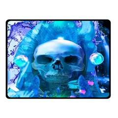 Skull Worship Double Sided Fleece Blanket (Small)