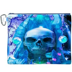 Skull Worship Canvas Cosmetic Bag (XXXL)