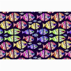 Colorful Fishes Pattern Design Collage 12  X 18