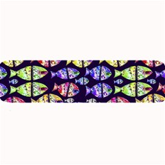Colorful Fishes Pattern Design Large Bar Mats