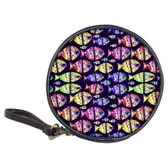 Colorful Fishes Pattern Design Classic 20-CD Wallets
