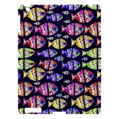 Colorful Fishes Pattern Design Apple iPad 3/4 Hardshell Case