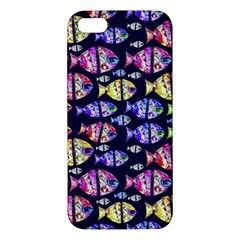 Colorful Fishes Pattern Design Apple iPhone 5 Premium Hardshell Case