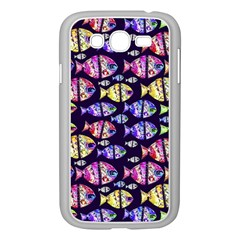 Colorful Fishes Pattern Design Samsung Galaxy Grand DUOS I9082 Case (White)