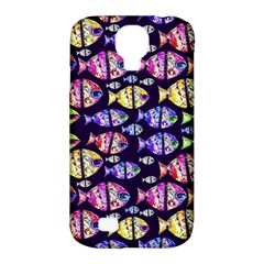 Colorful Fishes Pattern Design Samsung Galaxy S4 Classic Hardshell Case (PC+Silicone)