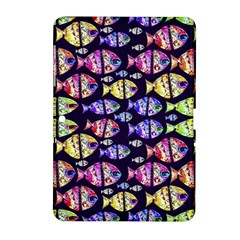 Colorful Fishes Pattern Design Samsung Galaxy Tab 2 (10.1 ) P5100 Hardshell Case