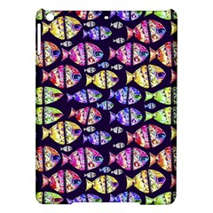 Colorful Fishes Pattern Design iPad Air Hardshell Cases