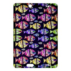 Colorful Fishes Pattern Design Kindle Fire HD (2013) Hardshell Case