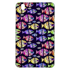 Colorful Fishes Pattern Design Samsung Galaxy Tab Pro 8.4 Hardshell Case