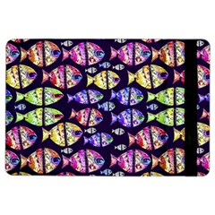 Colorful Fishes Pattern Design iPad Air 2 Flip