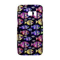 Colorful Fishes Pattern Design Galaxy S6 Edge