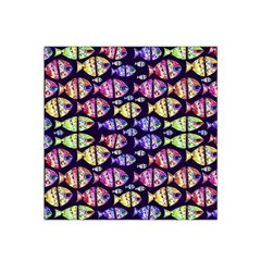 Colorful Fishes Pattern Design Satin Bandana Scarf