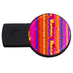 Colorful pieces USB Flash Drive Round (2 GB)