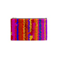 Colorful pieces Cosmetic Bag (Small)