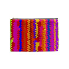 Colorful pieces Cosmetic Bag (Medium)