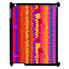 Colorful pieces Apple iPad 2 Case (Black)
