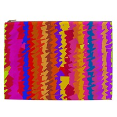 Colorful pieces Cosmetic Bag (XXL)