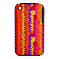 Colorful pieces Apple iPhone 3G/3GS Hardshell Case (PC+Silicone)