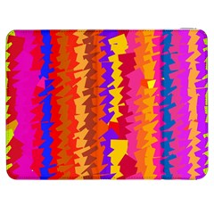 Colorful pieces Samsung Galaxy Tab 7  P1000 Flip Case