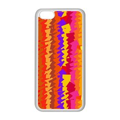 Colorful pieces Apple iPhone 5C Seamless Case (White)