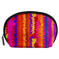 Colorful Pieces Accessory Pouch