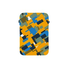 Blue yellow shapes Apple iPad Mini Protective Soft Case