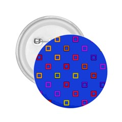 3d Squares On A Blue Background 2 25  Button