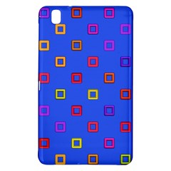 3d squares on a blue background	Samsung Galaxy Tab Pro 8.4 Hardshell Case