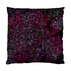 Fantasy City Maps 1 Standard Cushion Cases (Two Sides)