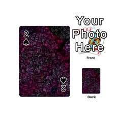 Fantasy City Maps 1 Playing Cards 54 (mini)