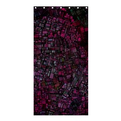 Fantasy City Maps 1 Shower Curtain 36  x 72  (Stall)