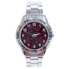Fantasy City Maps 1 Stainless Steel Men s Watch