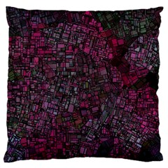 Fantasy City Maps 1 Standard Flano Cushion Cases (One Side)