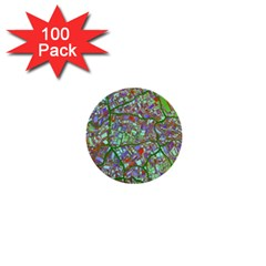 Fantasy City Maps 2 1  Mini Buttons (100 Pack)