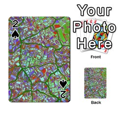 Fantasy City Maps 2 Playing Cards 54 Designs