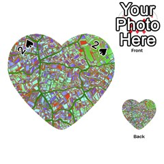 Fantasy City Maps 2 Playing Cards 54 (Heart)